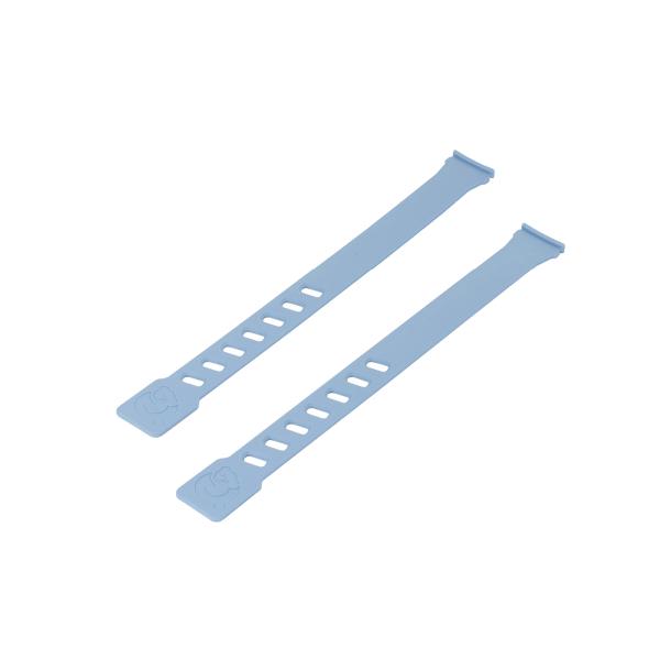 Coppia laccetti colore azzurro per seggiolini Air Front e Air Rear