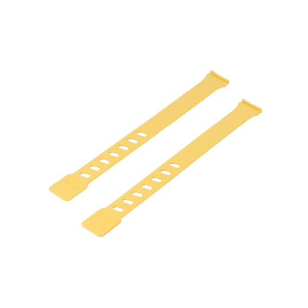 Coppia laccetti colore giallo per seggiolini Air Front e Air Rear