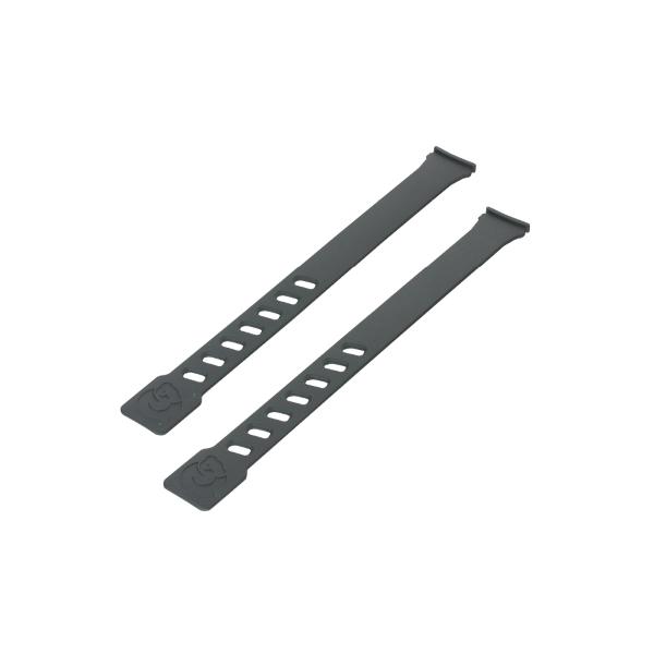 Coppia laccetti colore nero per seggiolini Air Front e Air Rear