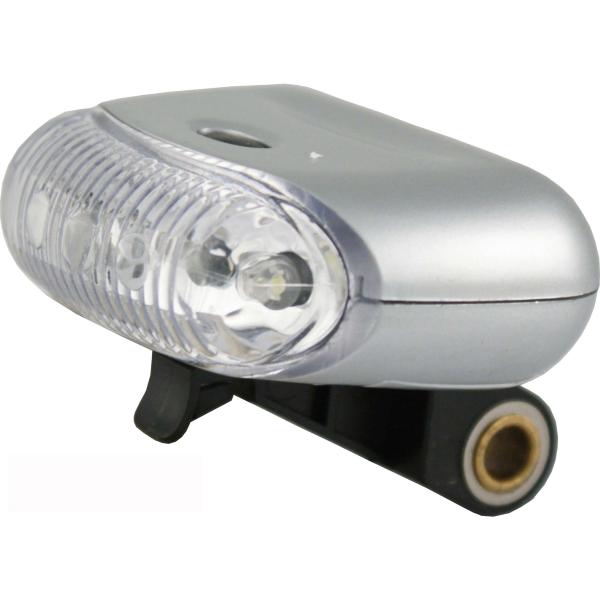 Fanalino anteriore 5 led a luce bianca a batteria