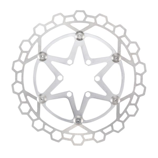 Disco flottante DIAMOND 2P 160mm colore silver