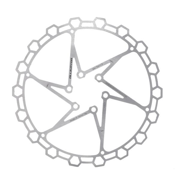 Disco freno DIAMOND 160mm colore silver