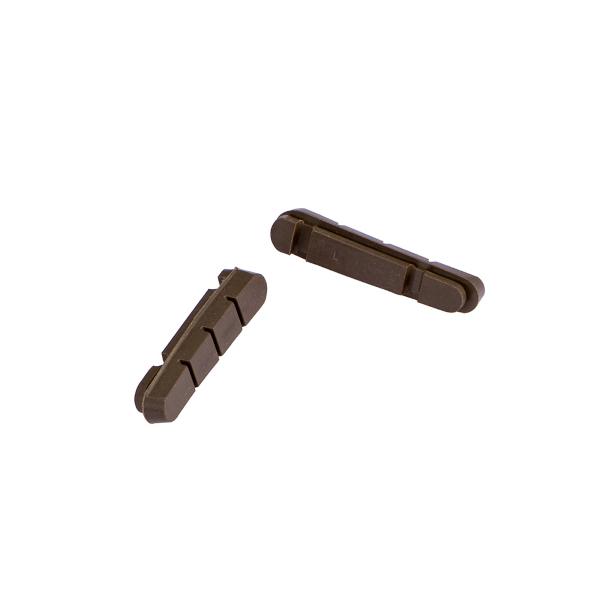 Coppia pattini ricambio ALLIGATOR 55mm compatibili nuovo Shimano