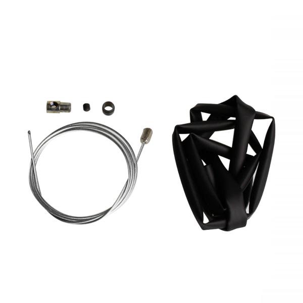 Kit fissaggio tubazioni guaina termoretrattile