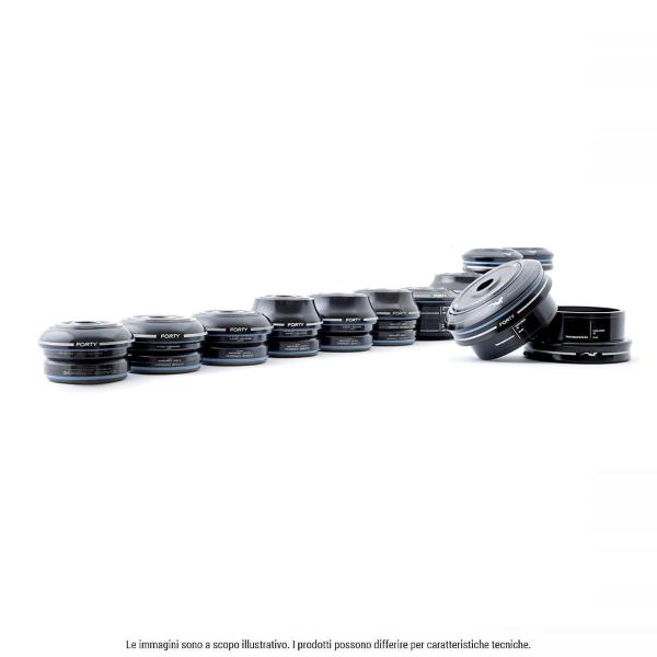 40-Series ZS56 cono basso - solo parte superiore - nero ZS56/28.6/H8
