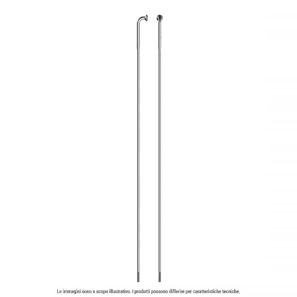 Raggio Sapim Strong Inox J-Bend ideale Ebike 268mm Silver con nipple o