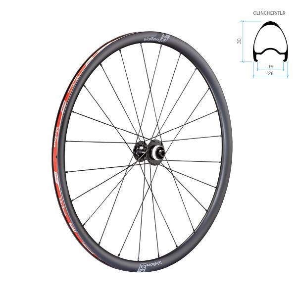 Coppia ruote vision TC30 DB-CL CH-TL SH11