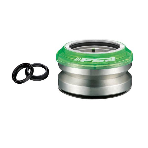 SERIE STERZO semintegrata Impact PC Campy/Gyro 15mm 1-1/8 verde trasp.