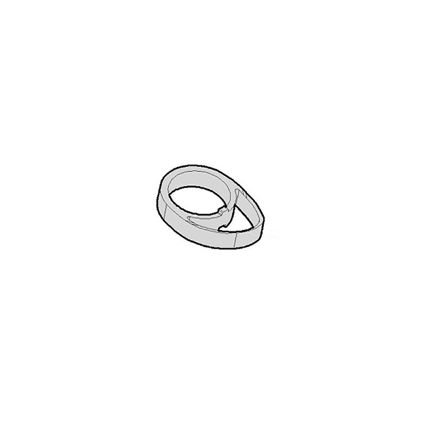 Spessore serie sterzo in carbonio aerodinamico per manubrio Vision Met
