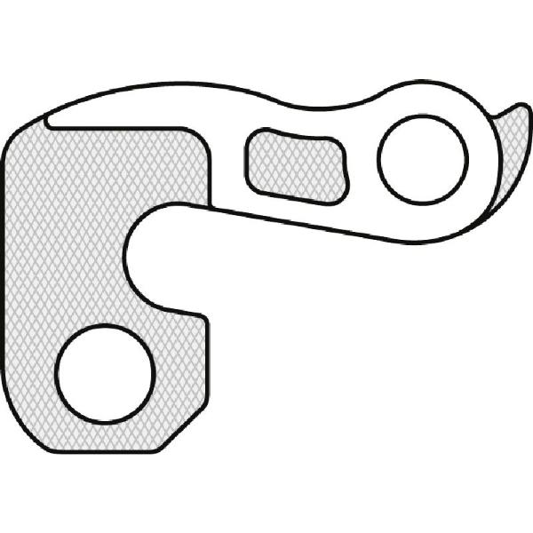 Forcellino cambio GH-012