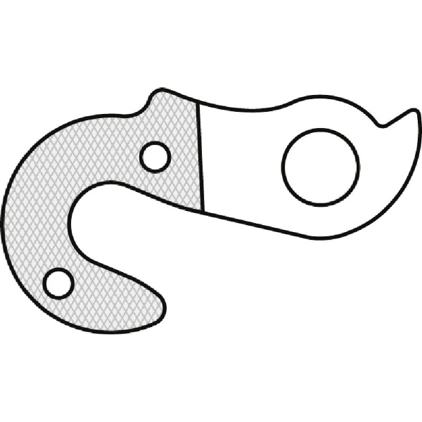 Forcellino cambio GH-039