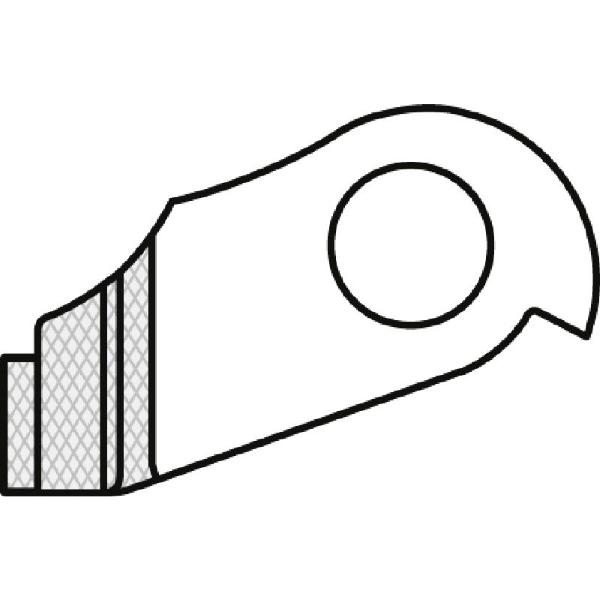 Forcellino cambio GH-076