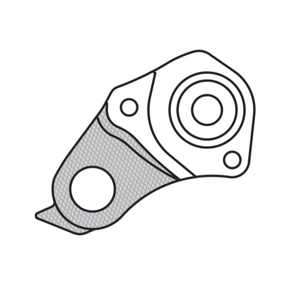 Forcellino cambio GH-186