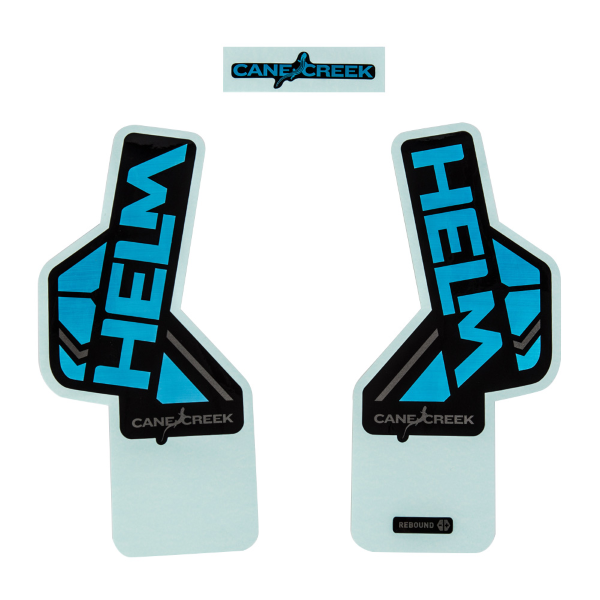 Kit adesivi HELM - 29/27.5 - colore blu