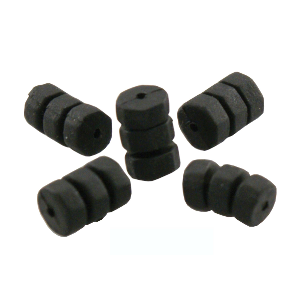 O-Ring ottagonali neri per cavi