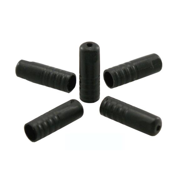 Capiguaina in plastica d.4x17mm con O-Ring 150 pezzi neri