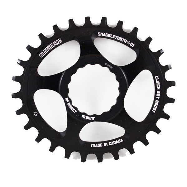 Corona Snaggletooth Ovale 28 Raceface Cinch direct mount boost piatta