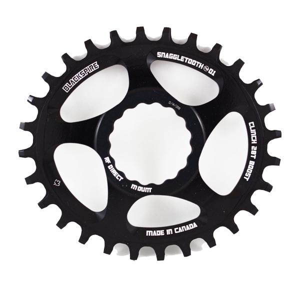Corona Snaggletooth Ovale 30 Raceface Cinch direct mount boost piatta