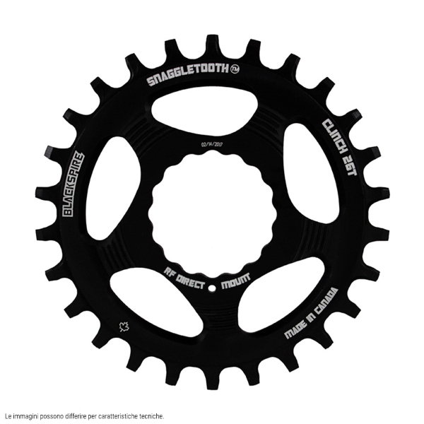 Corona Snaggletooth 28 Raceface Cinch direct mount boost piatta