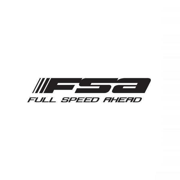 Top Cover FSA logo Black 9.35mm H2060A
